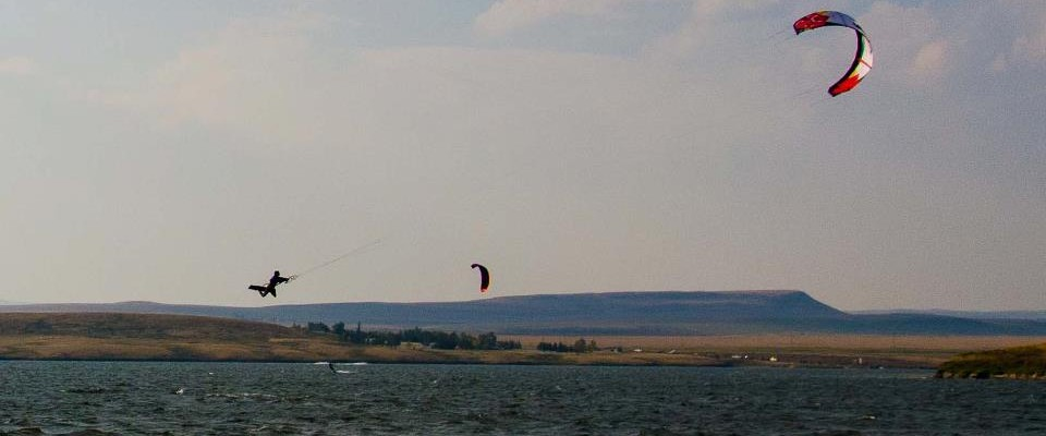 Pine Coulee Reservoir Carl Kite-loop